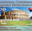 ICSD 2020 : 8th International Conference on Sustainable Development